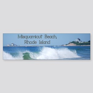 Breaking Ocean Wave Bumper Sticker
